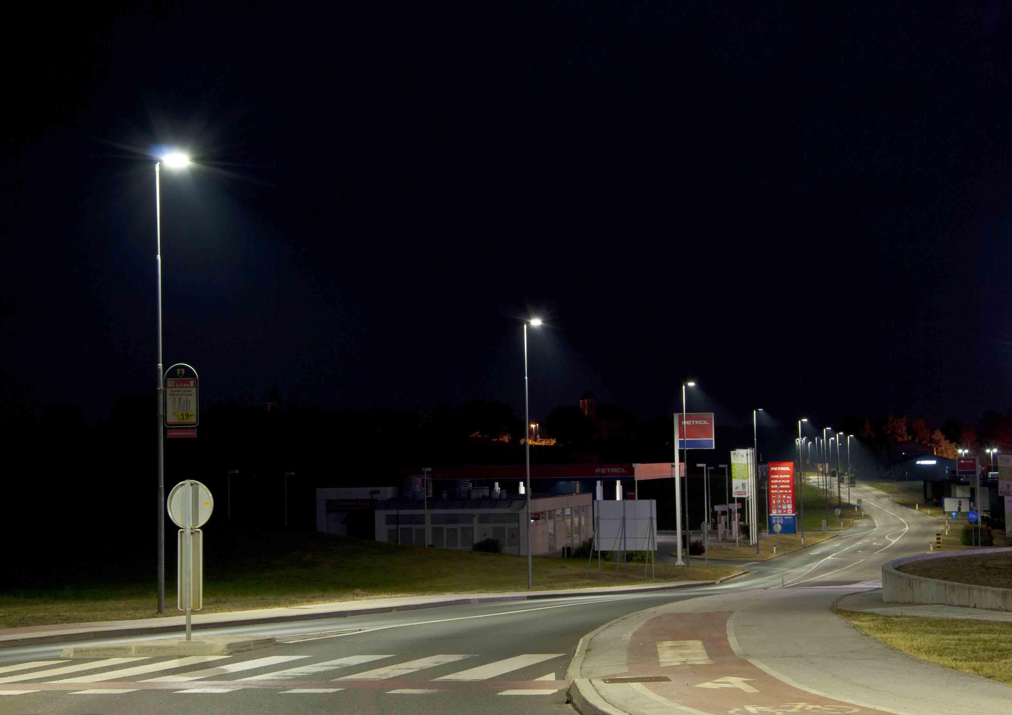 Illuminazione strade urbane ed extraurbane